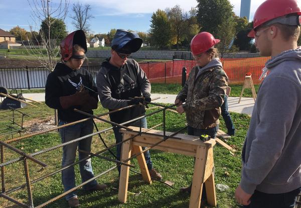 Kimberly Students are Constructing Their Future Through Community Building Projects