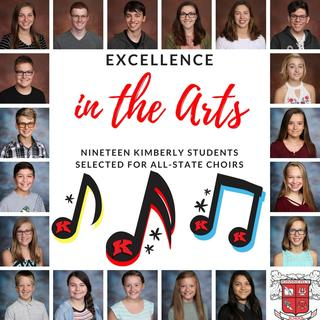 Nineteen students selected for All-State Choirs