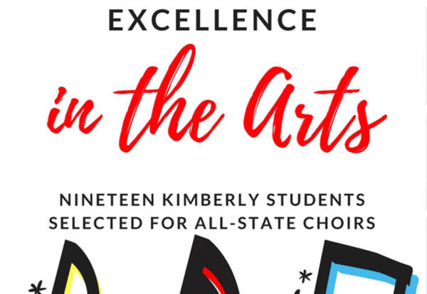 19 Kimberly Students to Sing with All-State Choirs!