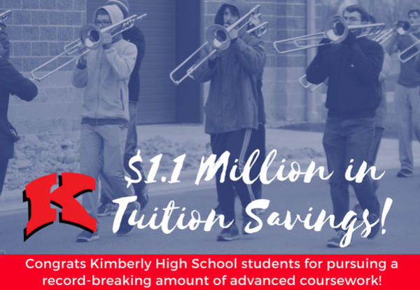 Students Save $1.1 Million in Estimated Tuition Savings