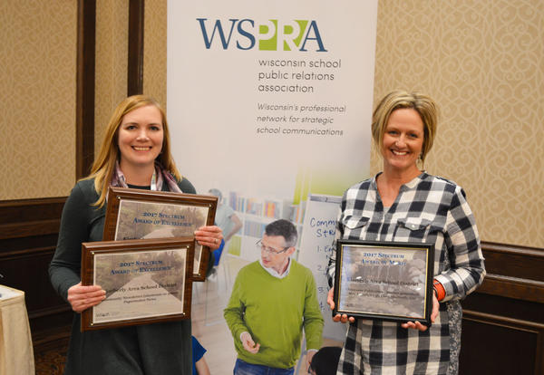 District Receives State's Top School Communications Award