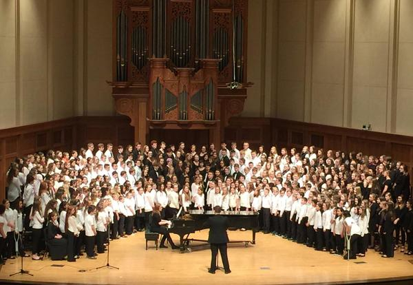 2nd Annual Kimberly Choral Festival Set for February 9, 2018