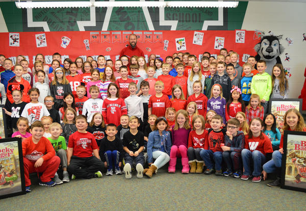 Author Chris Newbold Visited Woodland Elementary School  to Help Students Write Their Own Book