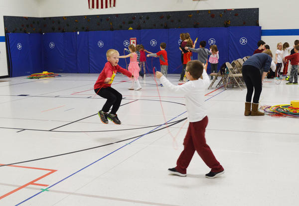 Kimberly Students Raise Over $54K through Jump Rope for Heart