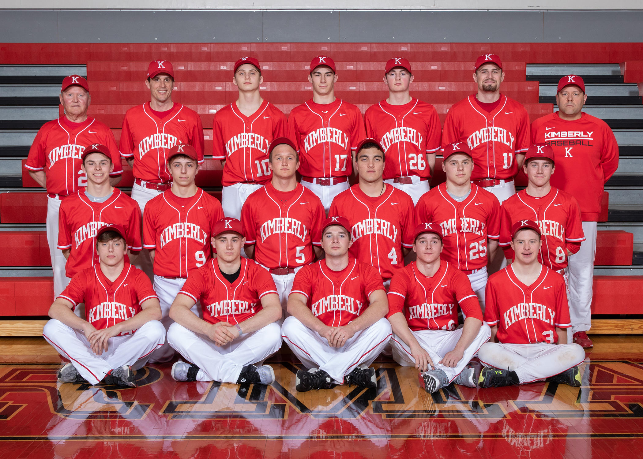 Kimberly Varsity Baseball Picture