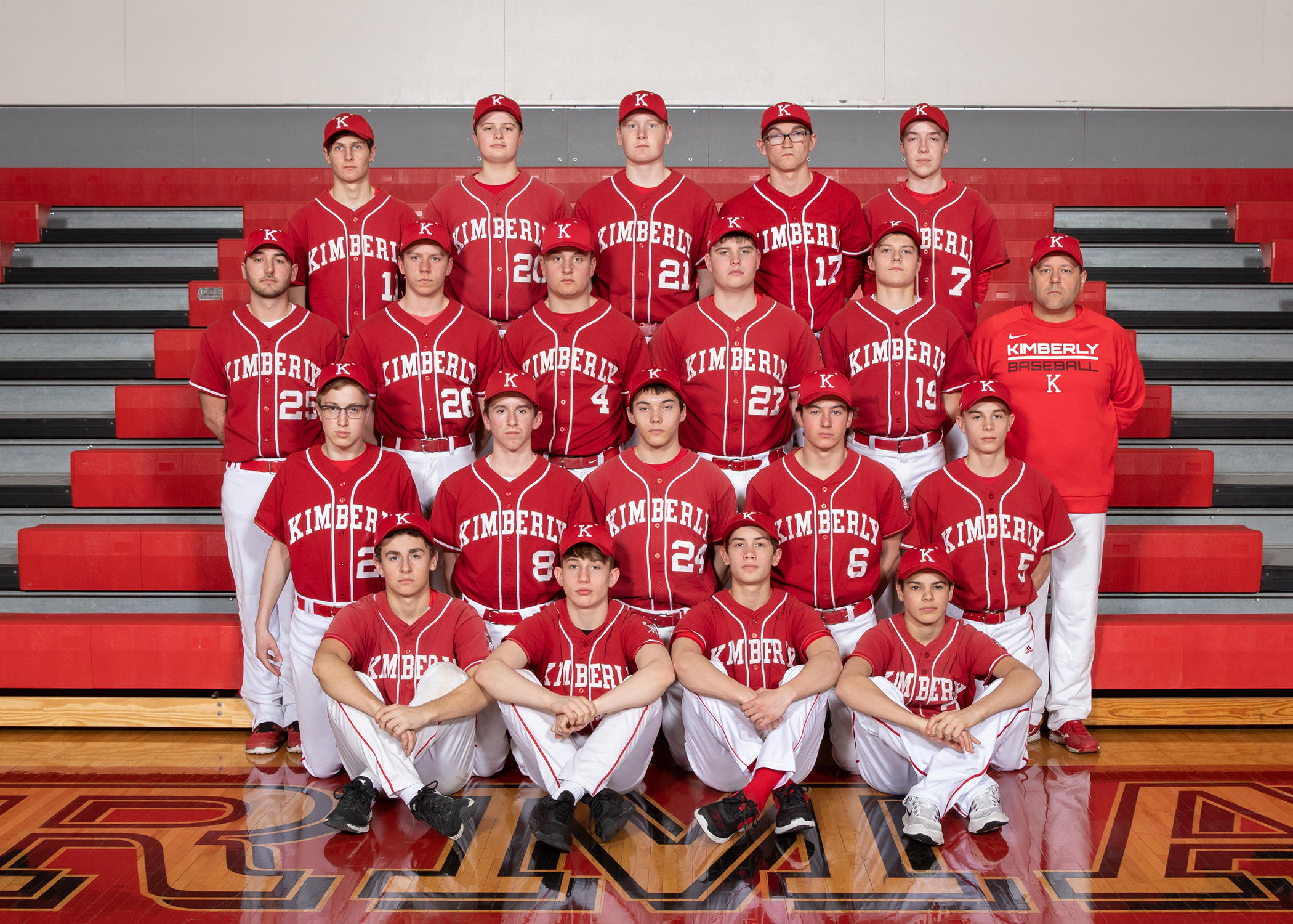 Kimberly JV Baseball Picture
