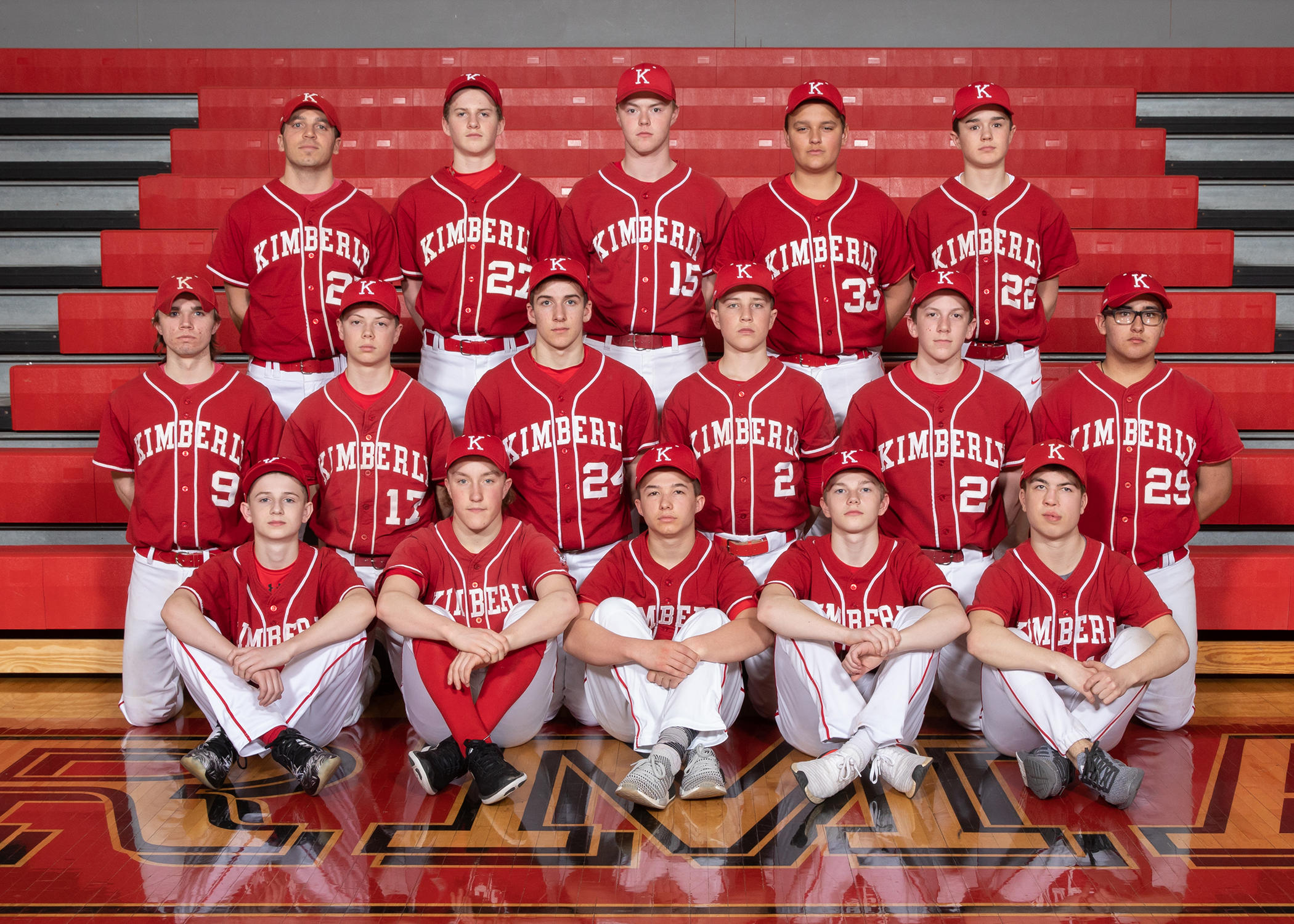 Kimberly Freshman Baseball Picture