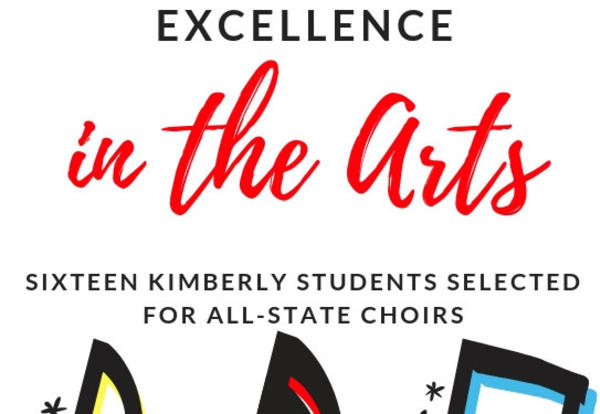 16 Kimberly Students to Sing with All-State Choirs!