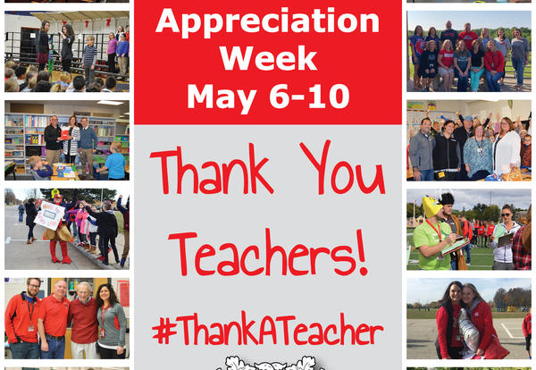 It's Teacher Appreciation Week!