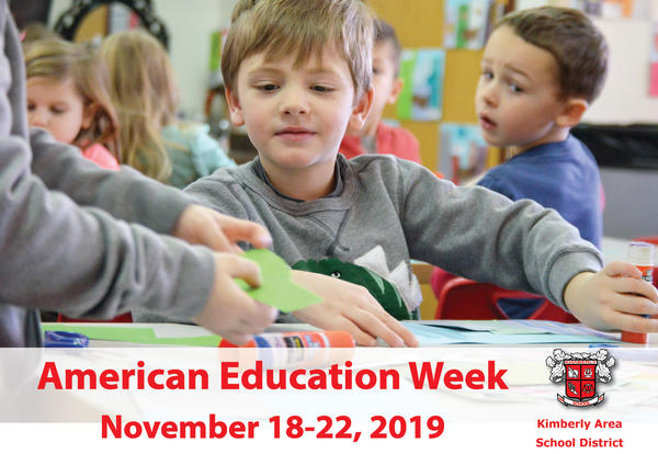 It is American Education Week, November 18-22, 2019!