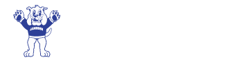 Buddy the Bulldog, the Janssen Elementary School logo