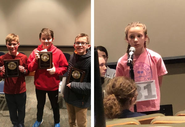 Two Kimberly Students Will Represent our Region at the State Spelling Bee