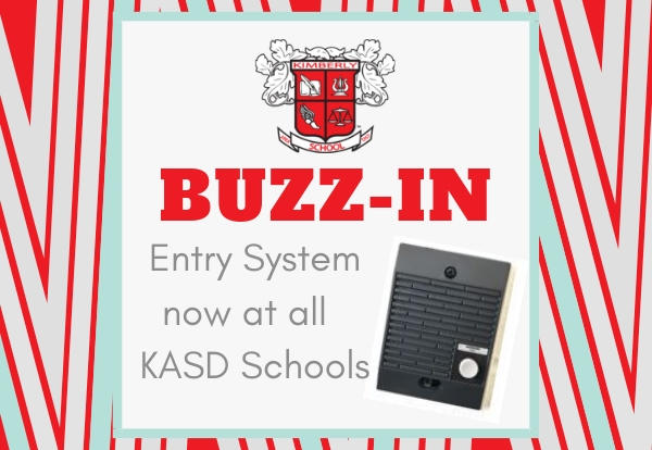Buzz-in entry system now at all KASD Schools