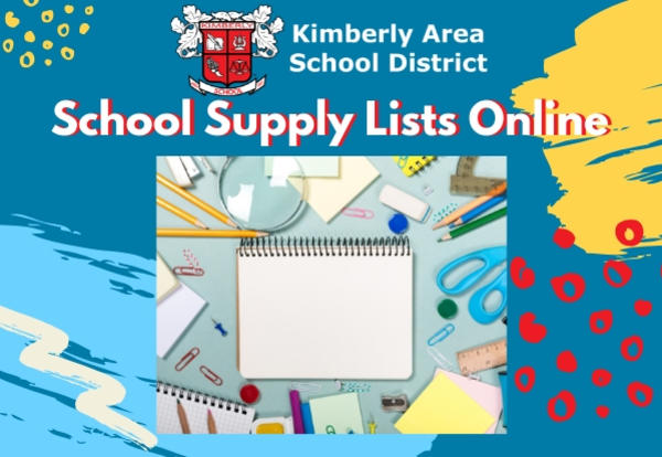 School Supply Lists Online