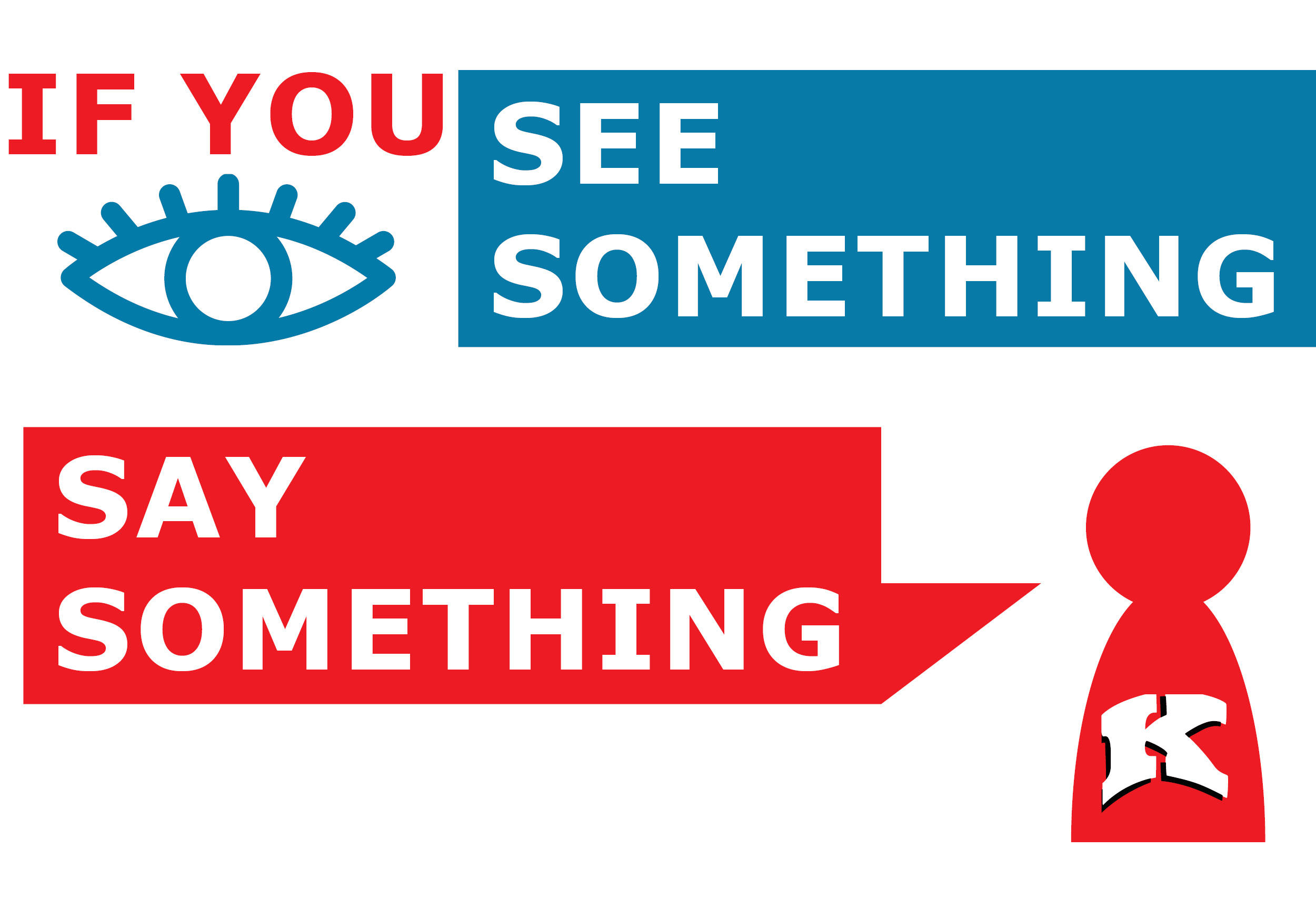 graphic of See Something Say Something