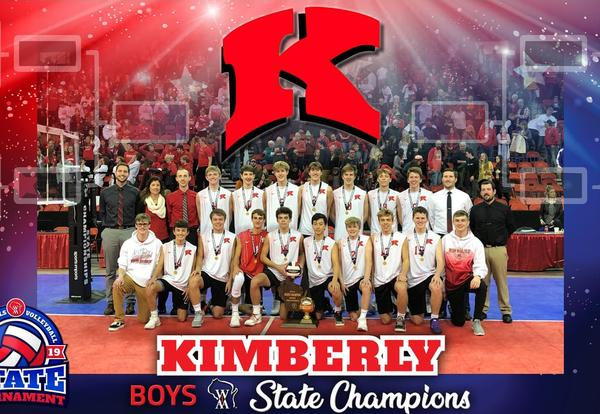 Boys Volleyball Team Brings Home State Championship