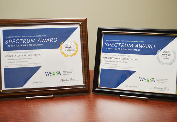 KASD received awards for communication projects at the WSPRA conference.