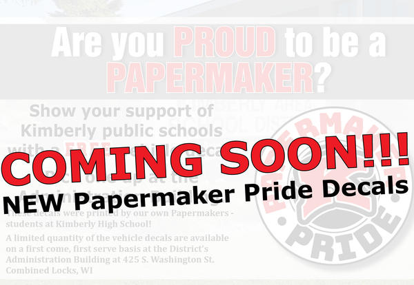 Coming Soon - New Papermaker Pride Vehicle Decal!