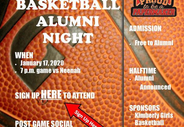2019-2020 Girls Basketball Alumni Game