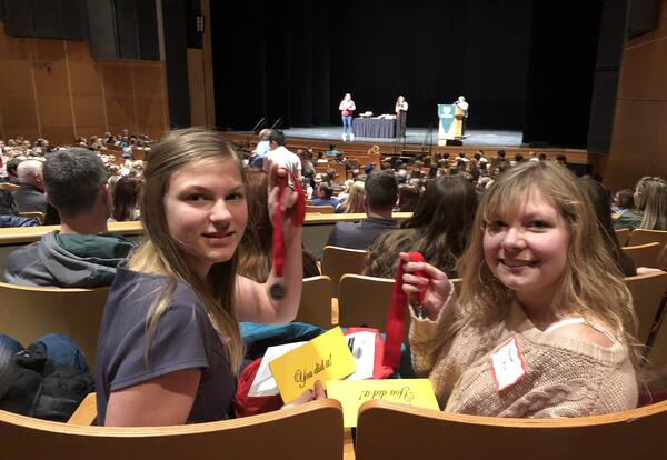 J.R. Gerritts Students at the Regional National History Day Competition