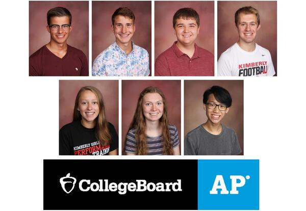 Students Named National AP Scholars