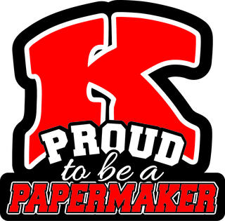 Proud to be a Papermaker graphic
