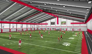 Rending of Interior of Indoor Facility