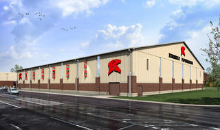 Rendering of Exterior of Indoor Facility