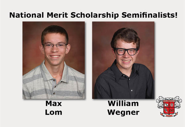 Two KHS Students are National Merit Scholarship Semifinalists