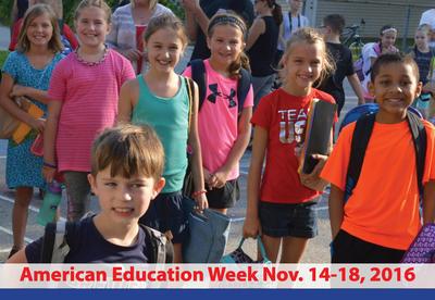 American Education Week Nov. 14-18