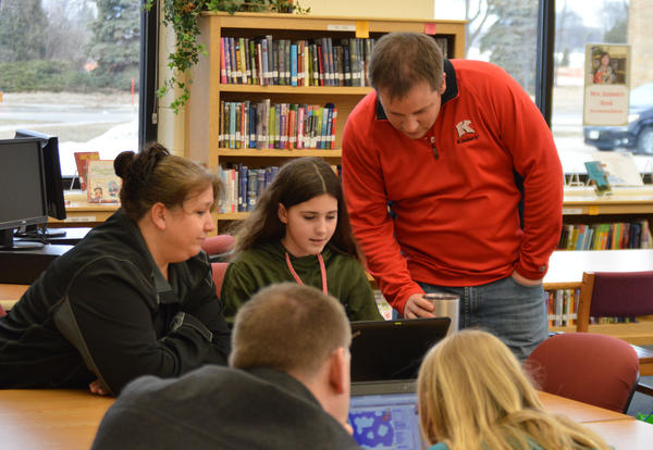 Bobcat Coders Share Their Work at Open House