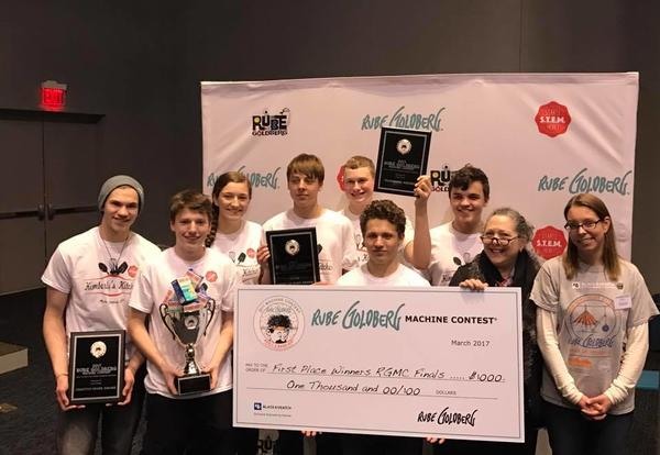 KHS Rube Goldberg Brings Home 1st at Nationals!