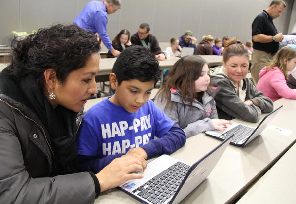 Online Learning and Computer Checkout Info For Parents