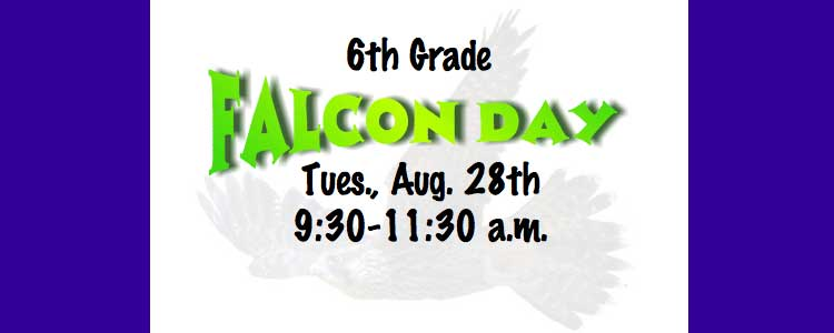 Falcon Day reminder