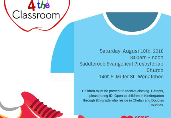 Free Clothes and Shoes for Back to School
