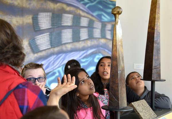 Art Appreciated: Beauty of Bronze Captivates Fifth-graders
