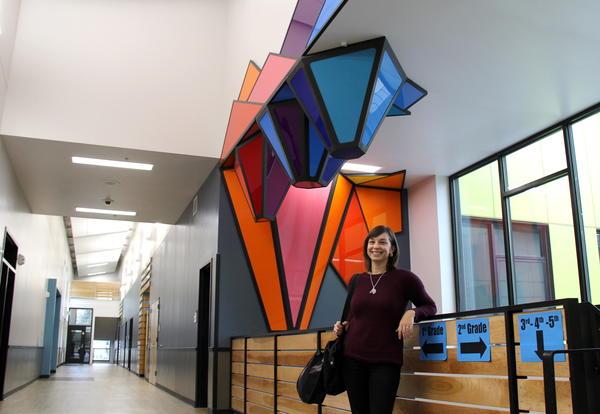 Washington Elementary Art Installation Sparkles