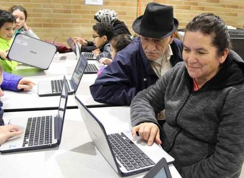 Generations come to evening of coding