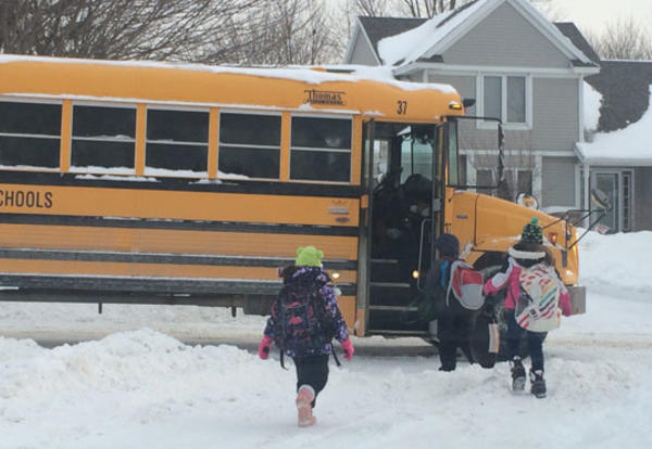 Winter Bus Routes Begin December 2