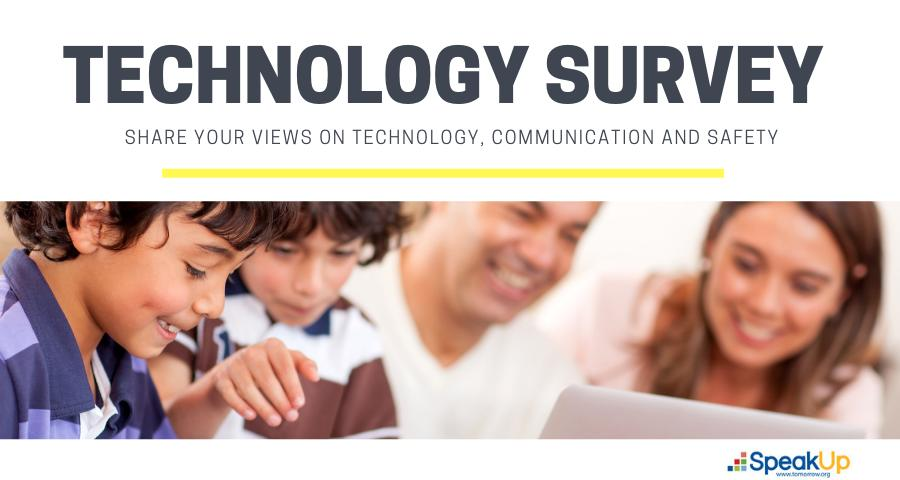 We Want to Hear Your Views on Technology and Learning! Please participate at http://bit.ly/2QvcjTa