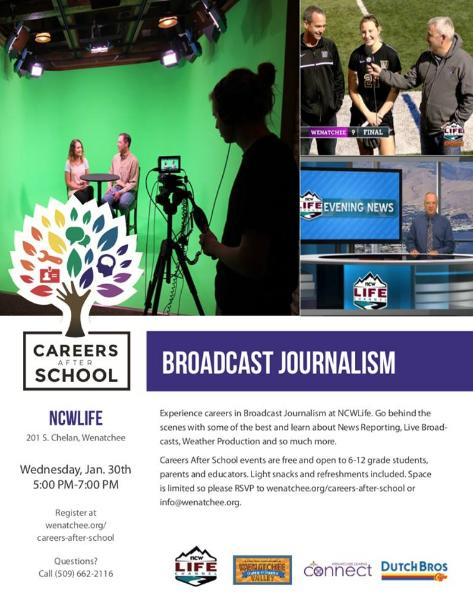 Careers After School - Broadcast Journalism | January 30