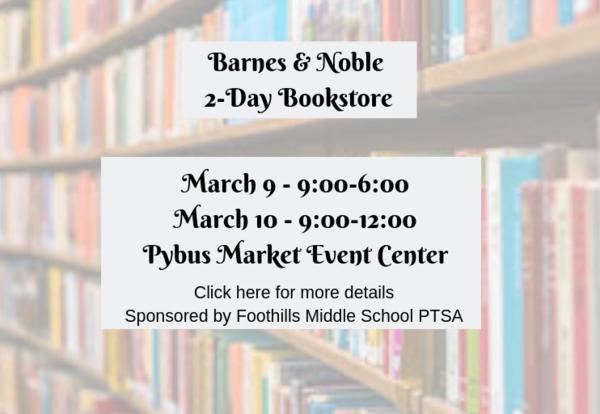 Barnes & Noble 2-Day Bookstore
