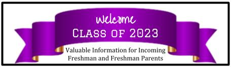 welcome class of 2023