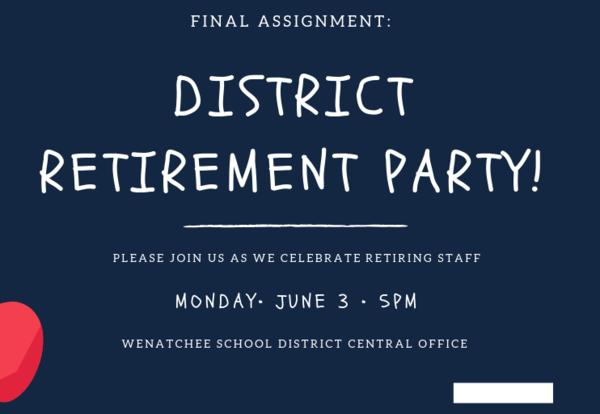District Retirement Party