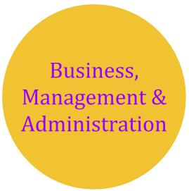 Business, Management & Administration cluster