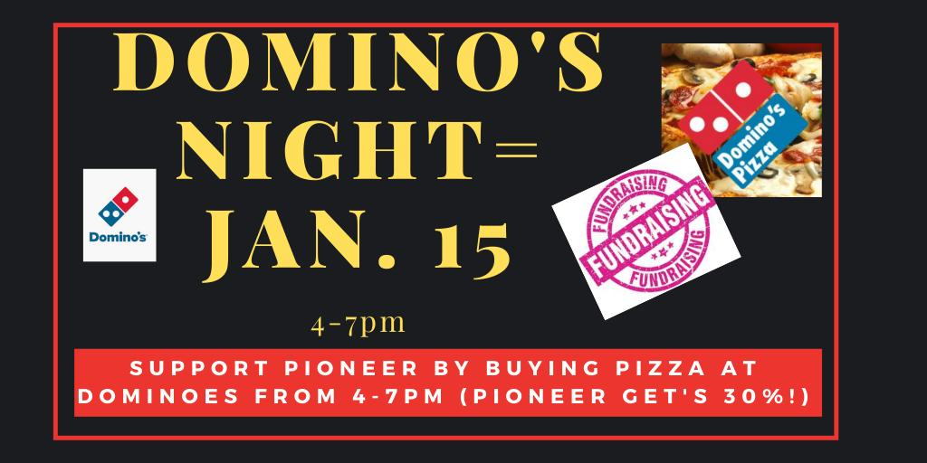 dominoes fundraiser