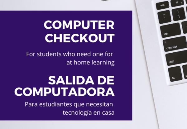 School Computer Checkout