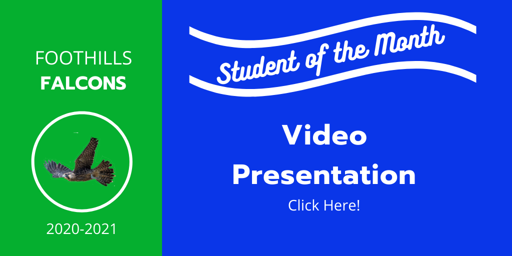 Student of the Month video presentation link