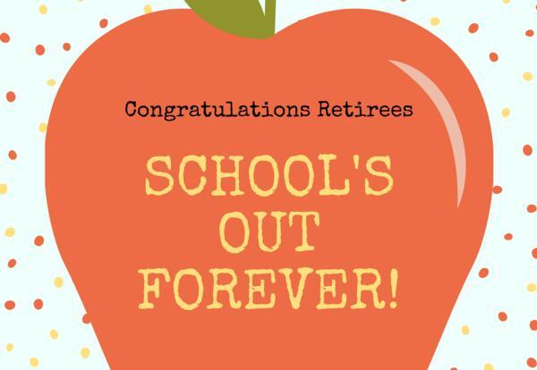 Congratulations Retirees