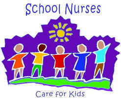 School nurse cartoon image kids holding hands